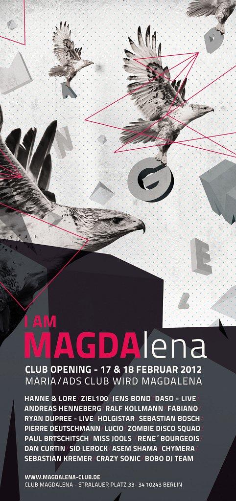 Affiche Magdalena 17-18 février