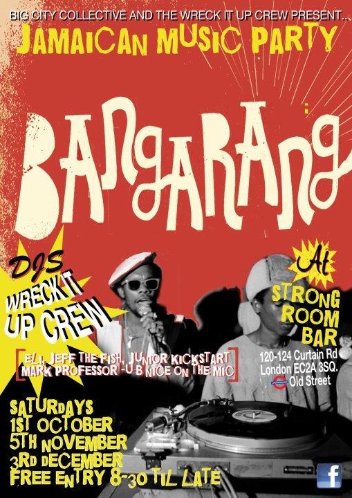 RA: Bangarang - Reggae Party at Strongroom Bar, London (2012)