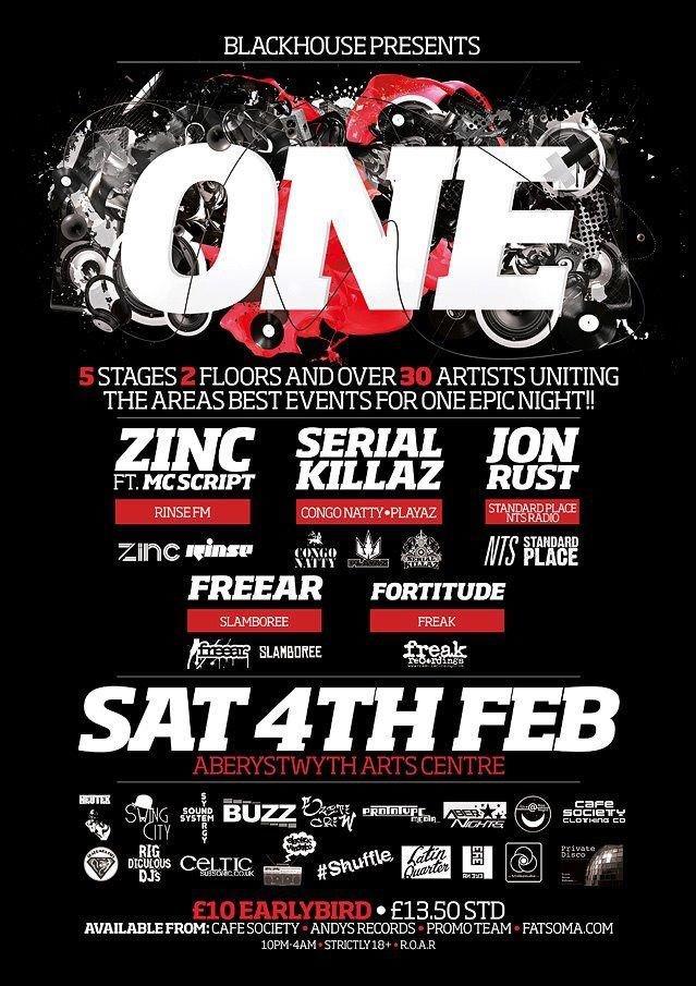 RA: Black House presents: One Ft: Zinc, Serial Killaz ...
