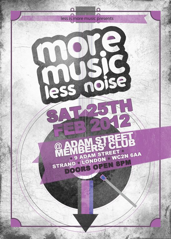 RA More Music Less Noise At Adam Street Private Members Club