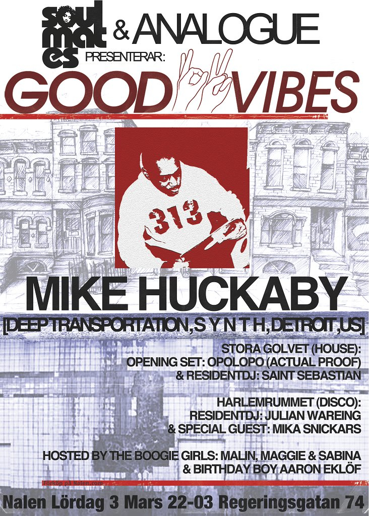 RA: Soulmates & Analogue presents Goodvibes with Mike
