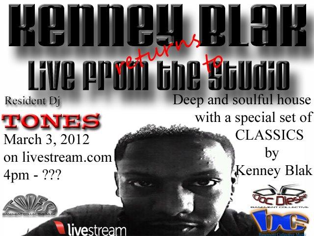RA: Live From The Studio - Kenney Blak Returns at Basement