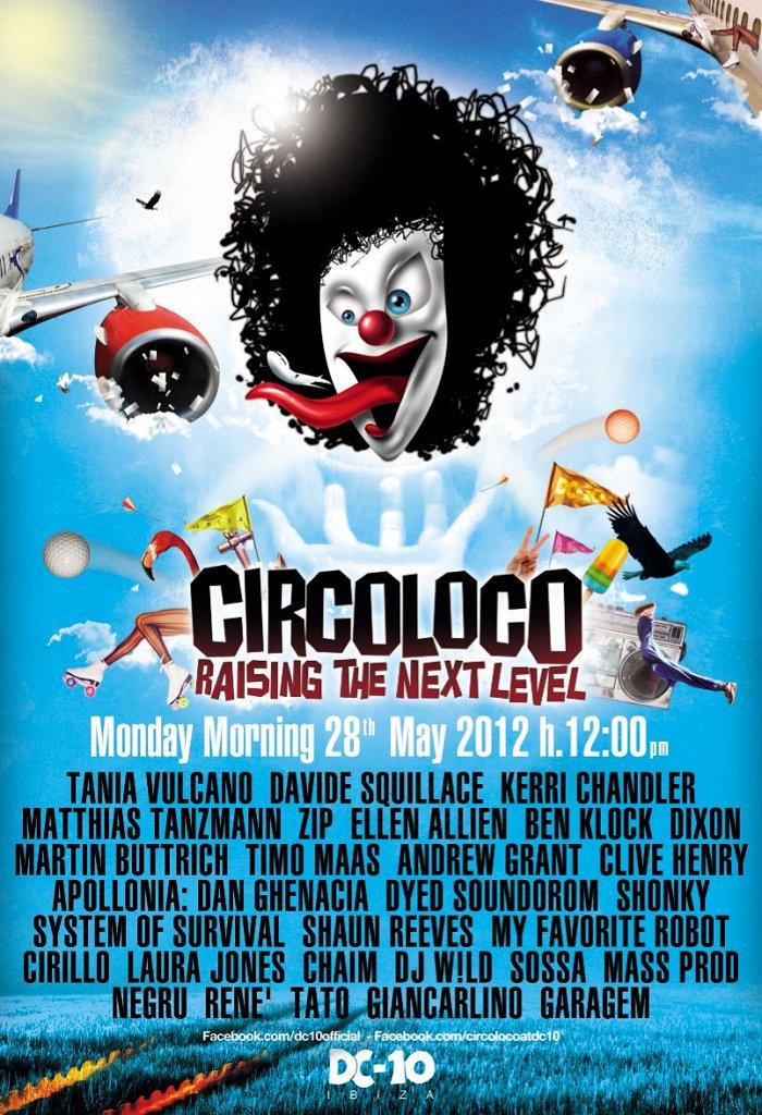 Circoloco - DC10 - Info, DJ listings and tickets   Ibiza Spotlight