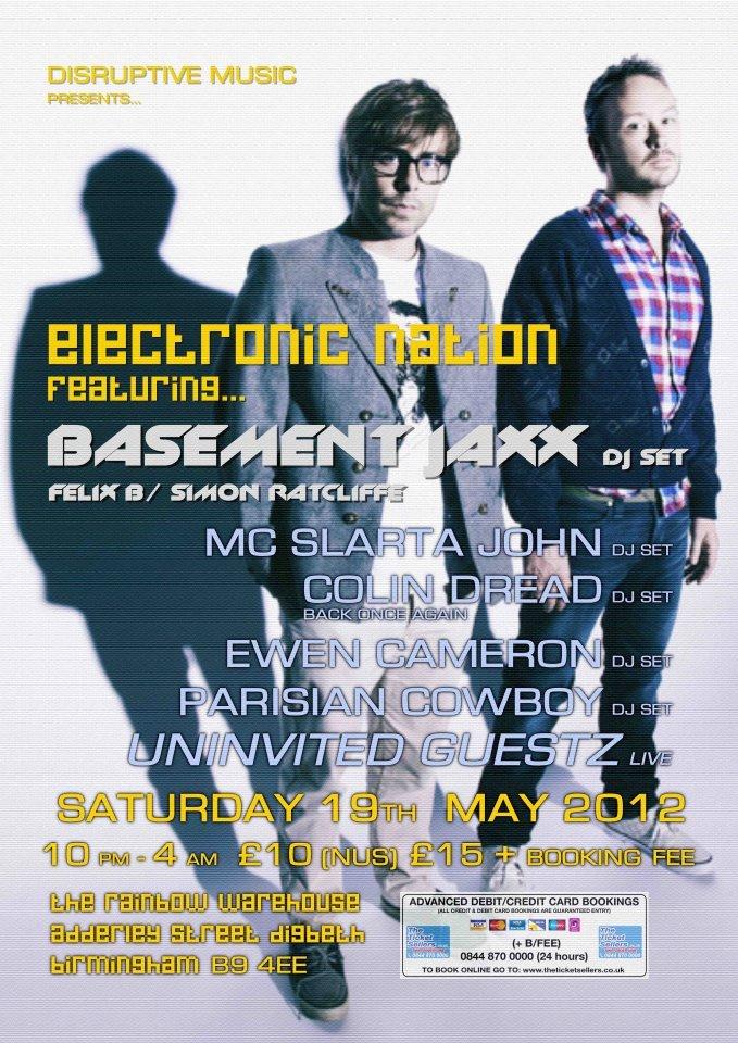 ra basement jaxx at the rainbow venues midlands 2012