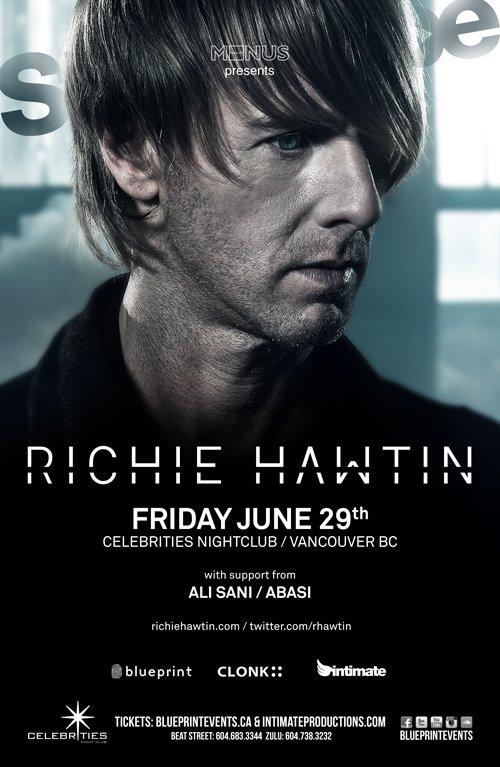 Ra richie hawtin stereotype fridays intimate productions intimate productions blueprint events line up malvernweather Choice Image