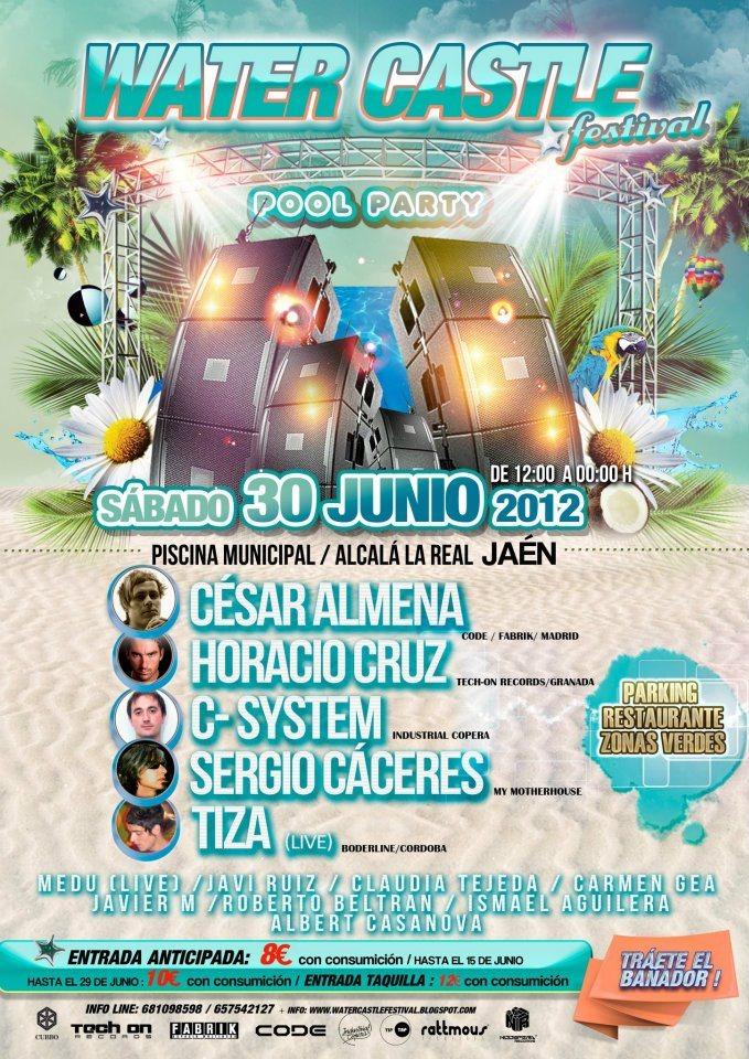 Ra water castle festival at piscina municipal de alcal for Piscina municipal alcala de guadaira