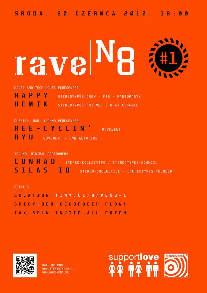 RA: Rave n8 #001 (Rave Night) at Rave, Stary Sacz, Poland (2012)