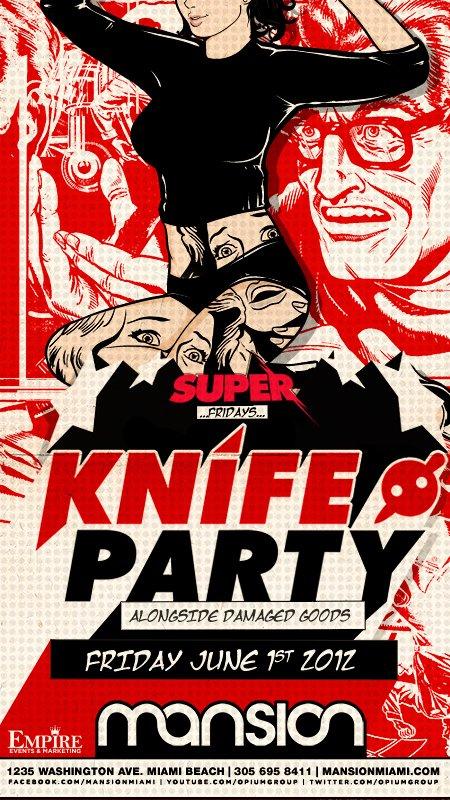 RA: Knife Party at Mansion, Florida (2012)