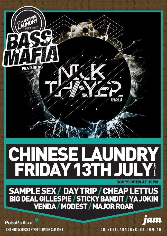 RA: Nick Thayer at Chinese Laundry, Sydney (2012)