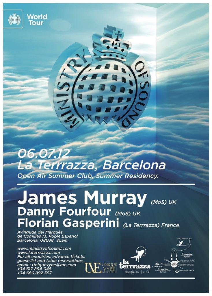 Ra Ministry Of Sound World Tour At La Terrrazza Barcelona