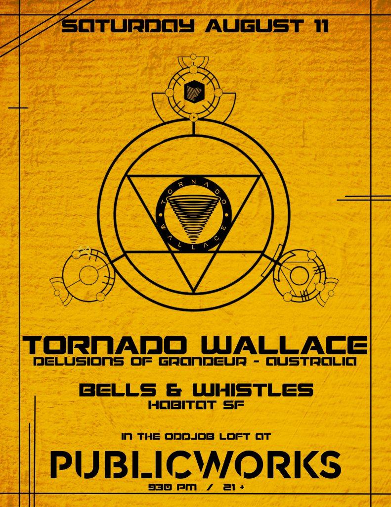 Ra Tornado Wallace In The Loft At Public Works San