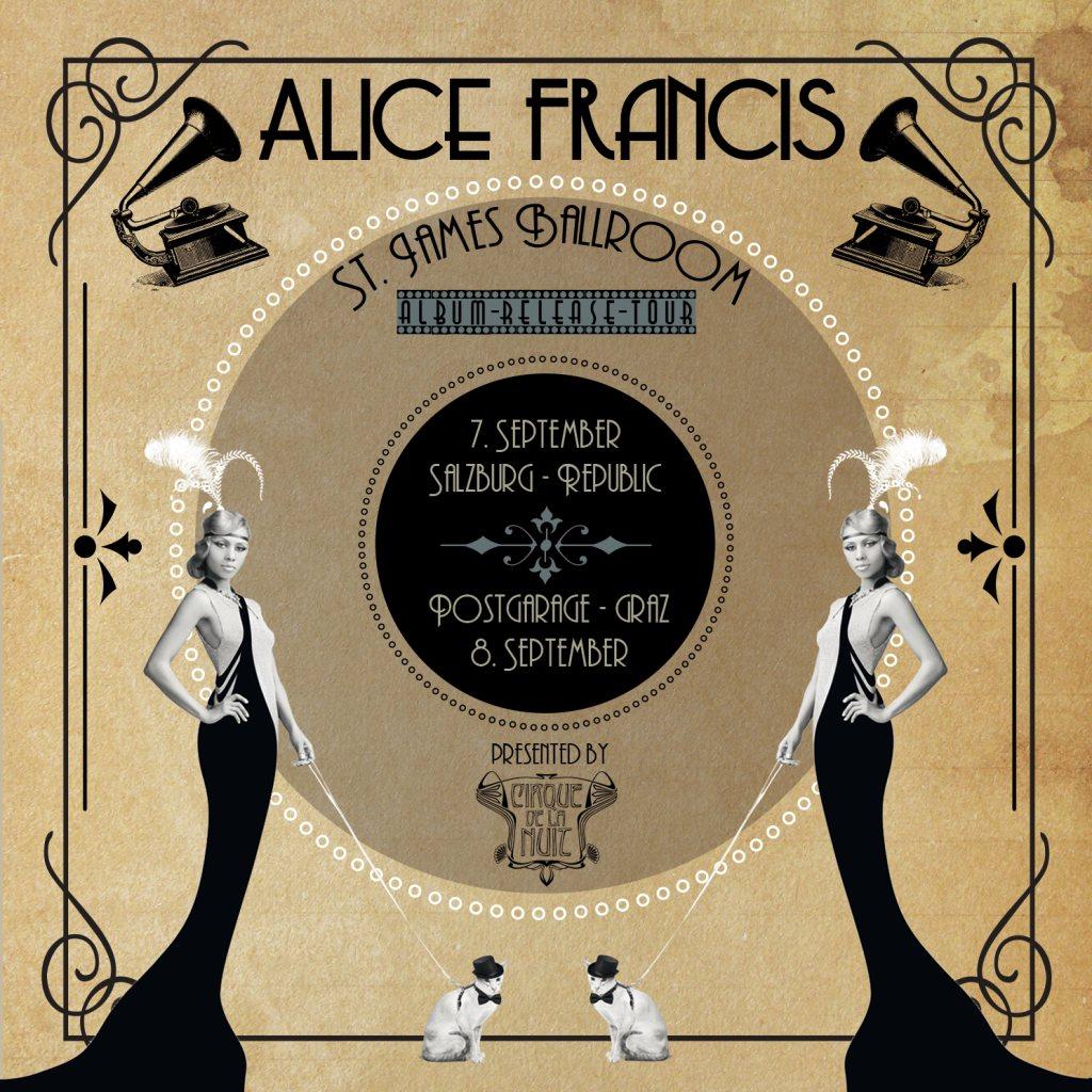 RA: Cirque de la Nuit Pres. Alice Francis -Releaseparty at ...