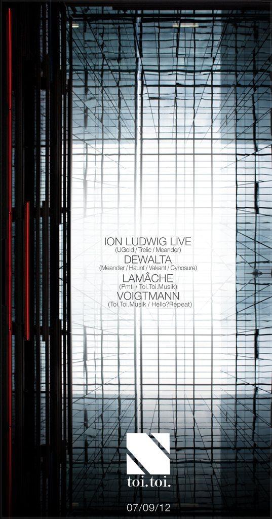 RA: Toi.Toi.Musik presents Dewalta & Ion Ludwig Live at Bar A Bar ...