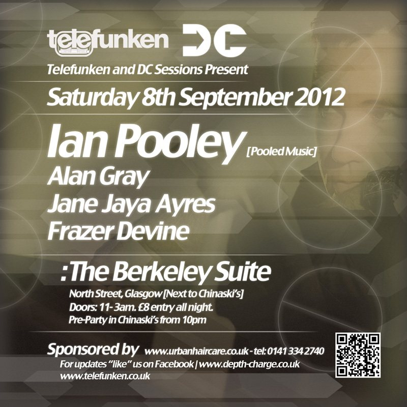 RA: Telefunken & DC Sessions present Ian Pooley at The