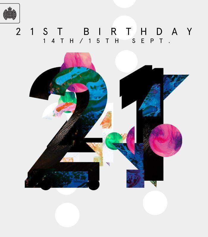 21 Birthday Invite with nice invitations design