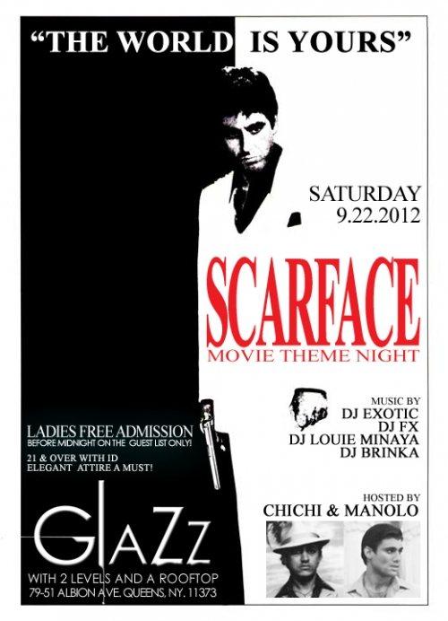 Ra Scarface Theme Night At Glazz New York 2012