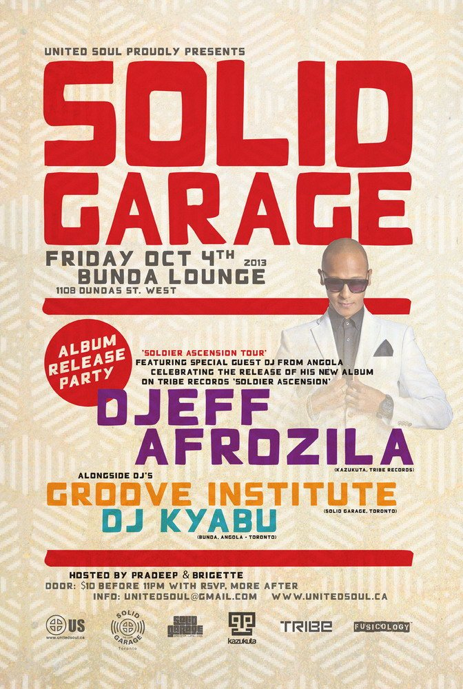RA: Solid Garage & Soul Ascension Album Release Party with