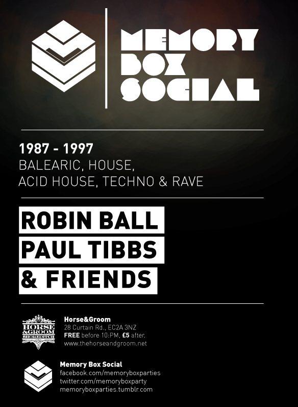 Ra memory box social 1987 to 1997 classic balearic for Acid house techno