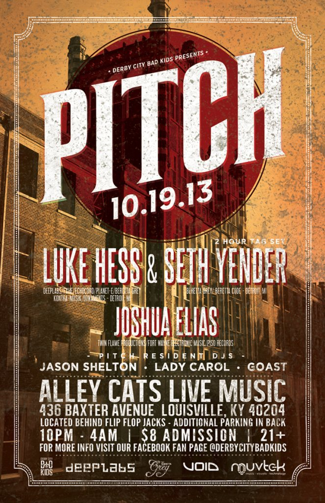RA: Pitch with Luke Hess & Seth Yender at Alley Cats Live