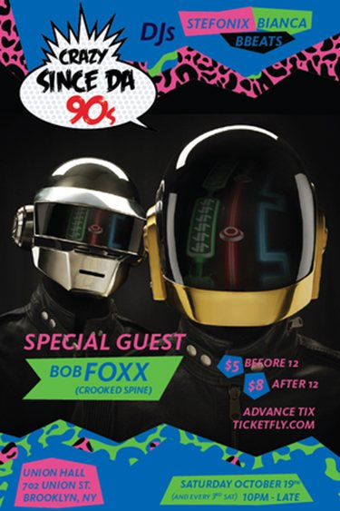 RA: Crazy Since the 90s - Techno Edition at Union Hall, New