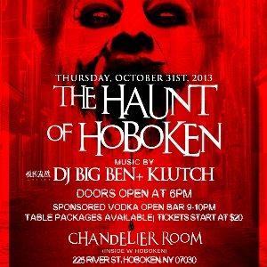 RA: Halloween at The W Hotel Hoboken\'s Chandelier Room Rooptop ...