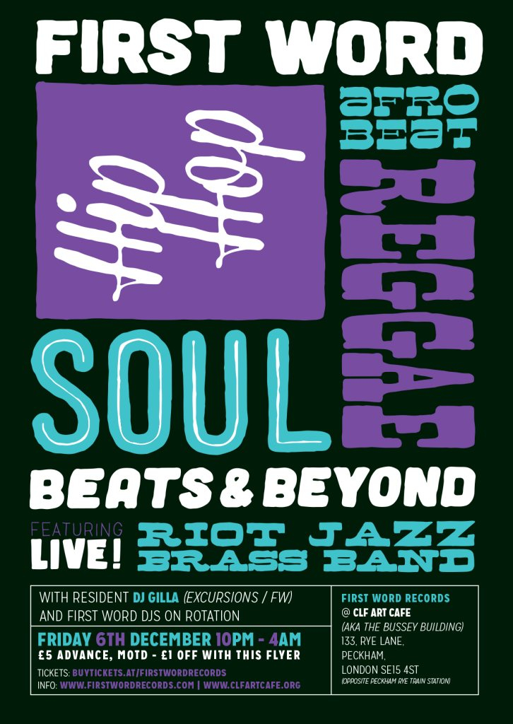 Ra First Word Presents Riot Jazz Brass Band Live