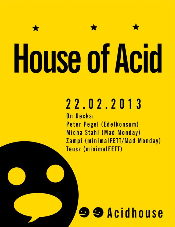 Ra house of acid at music hall berlin 2013 for Acid house soundtrack