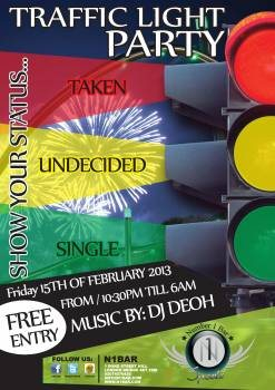Line Up /. DJ Deoh. TRAFFIC LIGHT PARTY ...