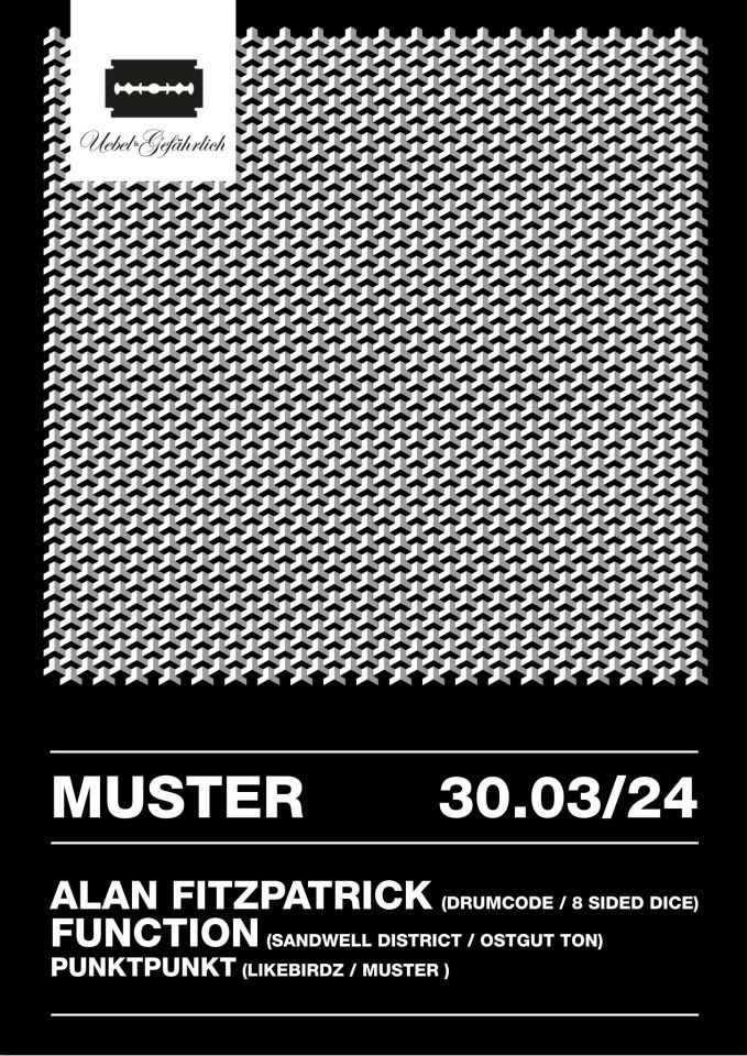 line up - Flyer Muster