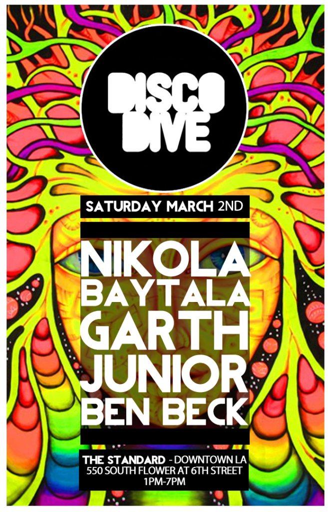 RA Disco Dive Feat Nikola Baytala Garth Junior At The Rooftop