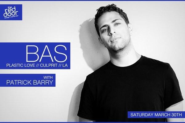 RA: Bas (Plastic Love/Culprit - LA) and Resident dj Patrick