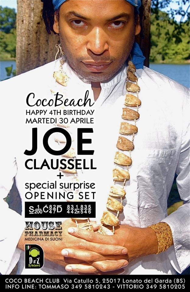 Joaquin Joe Claussell Line-up / Joe Claussell