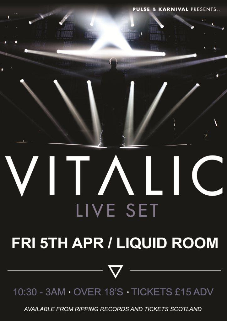 Ra Pulse Karnival Presents Vitalic Live At The Liquid
