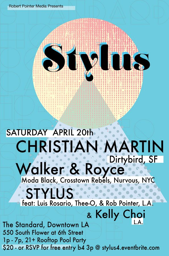 RA Stylus Standard Hotel Rooftop Pool Party With Christian Martin