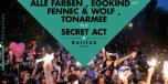 Kallias Open Air Berlin with Alle Farben, Egokind, Fennec & Wolf flyer
