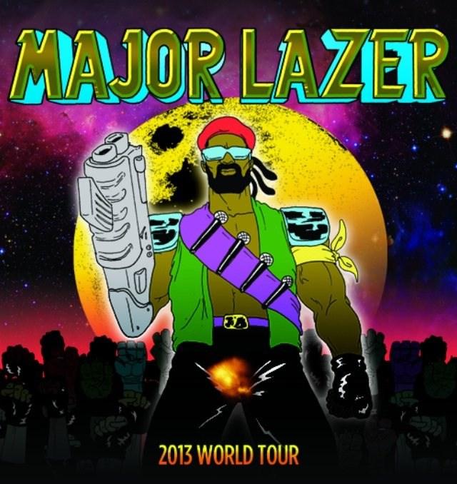 Major Lazer Tour Dates Uk