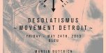 'Desolatismus' Official Movement Festival Opening Party flyer