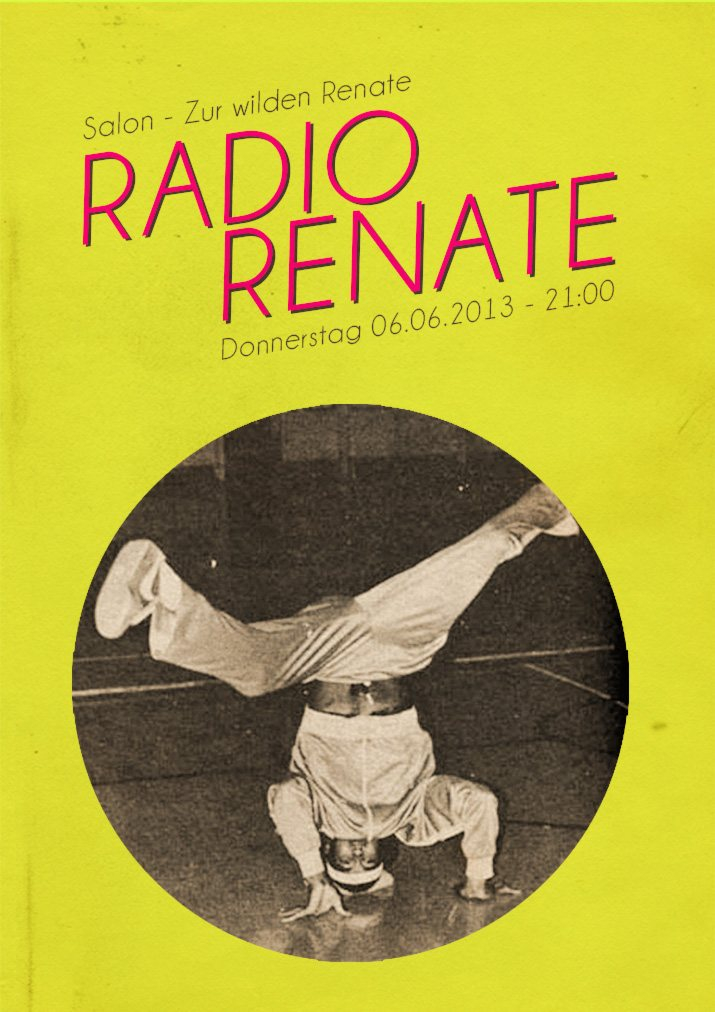 Ra radio renate at salon zur wilden renate berlin 2013 for Salon zur wilden renate