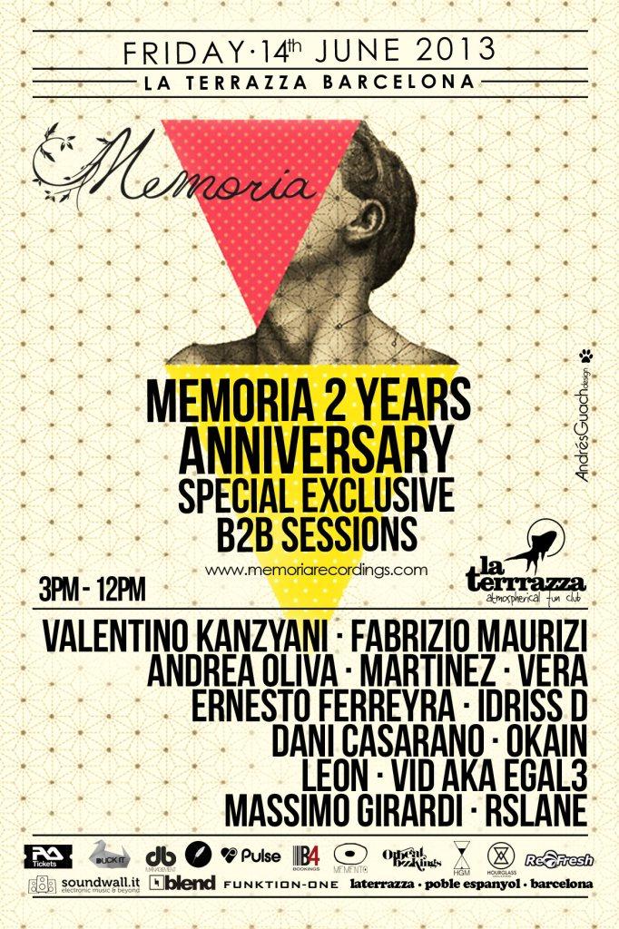Ra Hourglass Media Events Memoria 2 Years Anniversary