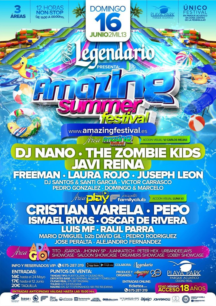 RA: Amazing Summer Festival 2013 at Complejo Playa Park ...