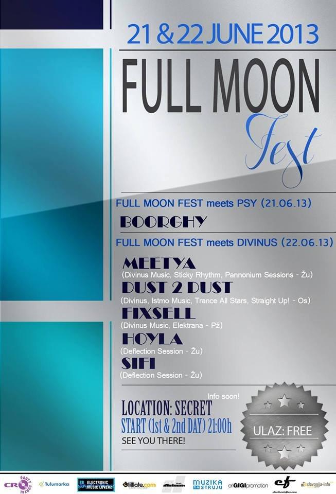 RA: Full Moon Open Air at TBA - Croatia, Croatia (2013)