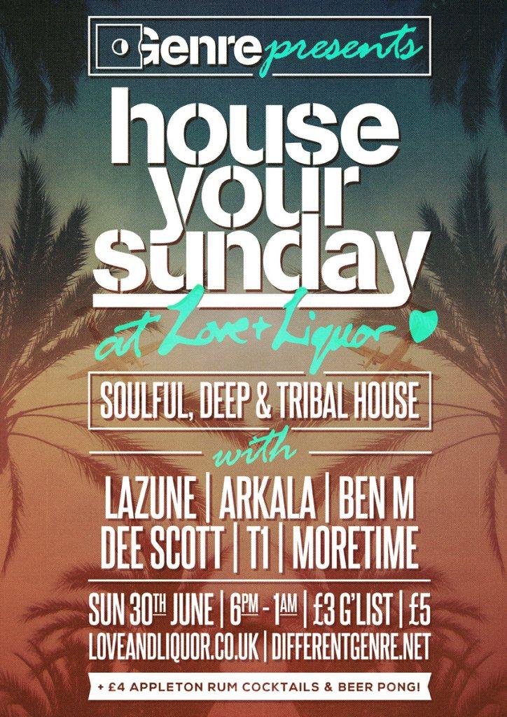 RA: House Your Sunday at Love & Liquor, London (2013)
