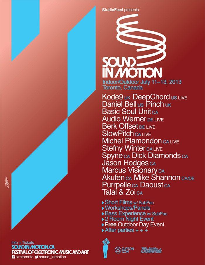 Sound in Motion flyer