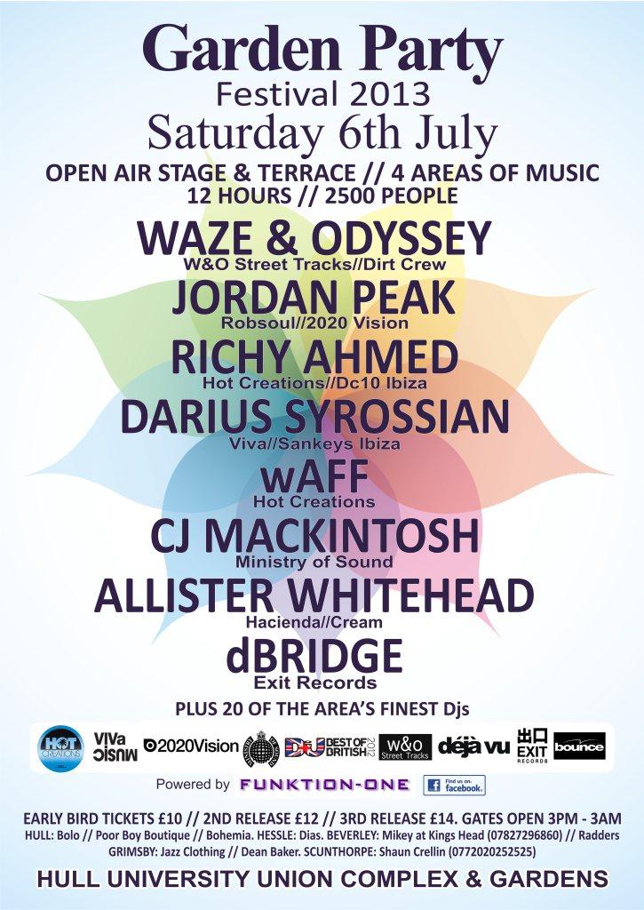 RA: Garden Party - Waze & Odyssey, Richy Ahmed, Darius