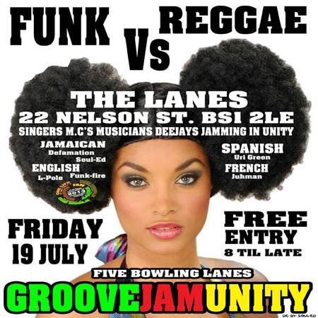 RA: Funk vs Reggae at The Lanes, Bristol (2013)