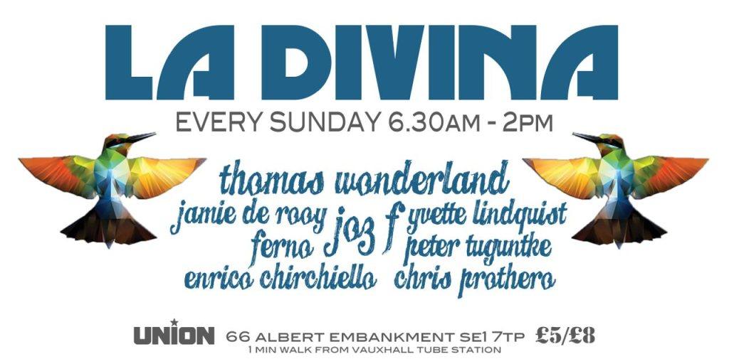RA: la Divina After Party at Union, London (2013)