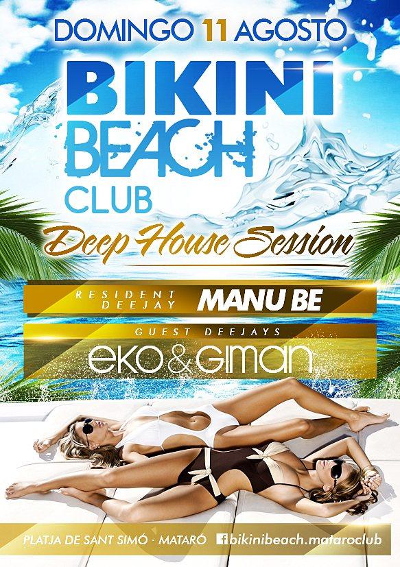 Ra eko giman at sound sun days at bikini beach club for Bikini club barcelona