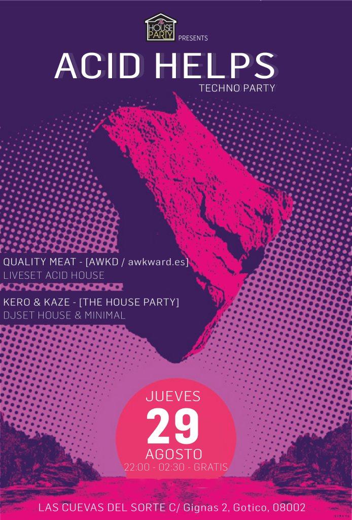 Ra acid helps live acid house minimal dj set for Acid house party