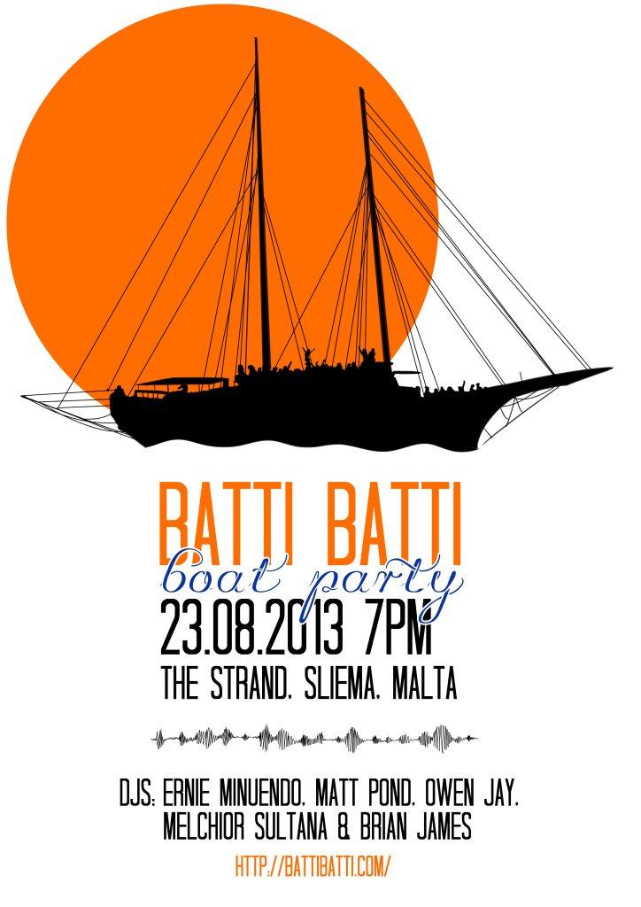 RA: Batti Batti Records Event at TBA - Malta, Malta (2013)