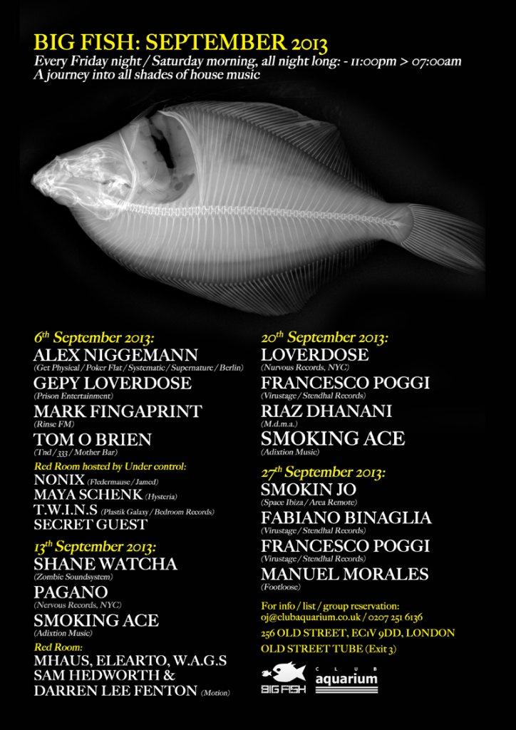 Ra big fish all night long with loverdose francesco poggi for Big fish musical soundtrack
